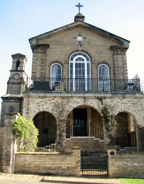 The Norfolk Lunatic Asylum (St Andrew's Hospital) - the chapel