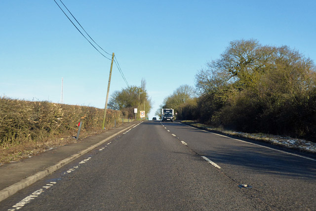 A10 heading north