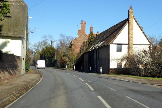 Houses on Old North Road, Kneesworth