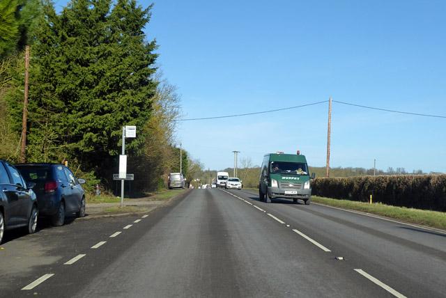 A1198, Ermine Way, heading north