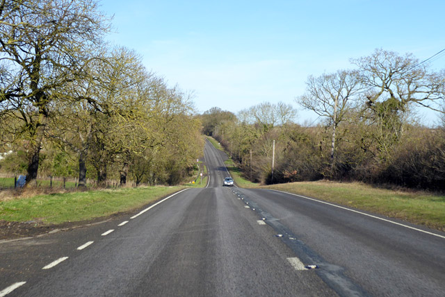 A1198, Ermine Way, heading north