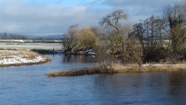 Cluden Water meets River Nith