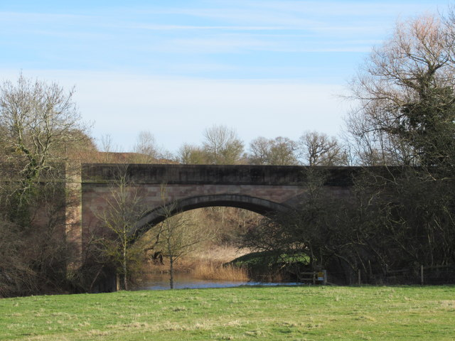 A449 Bridge Over The River Salwarpe Hawford