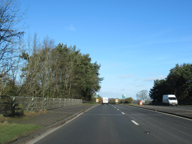 A449 Passing Ombersley