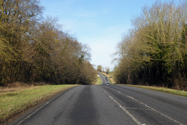 A1198, Old North Road, heading north