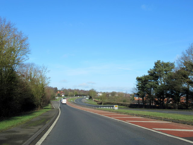A449 Northbound Near Oldfield