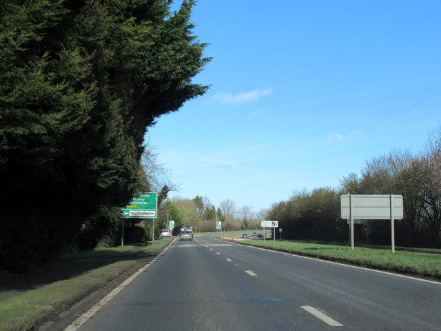 A449 Northbound Turning For Northampton