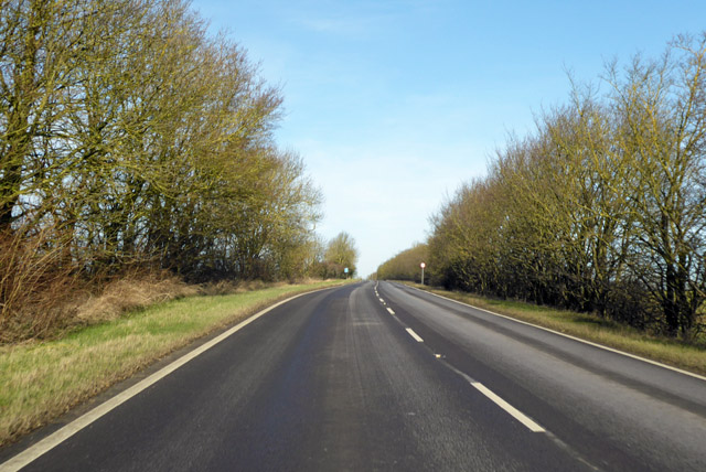 A1198, Ermine Street, northbound