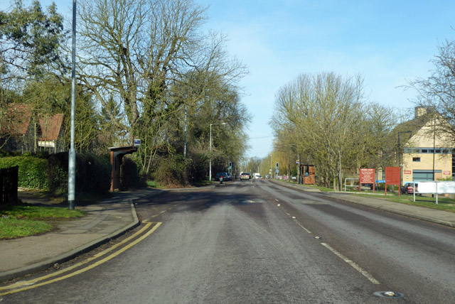 Ermine Street North, Papworth Everard