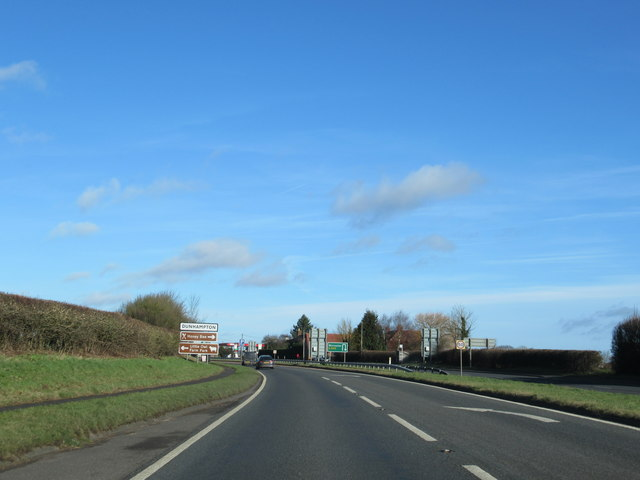 A449 Near Sytchampton