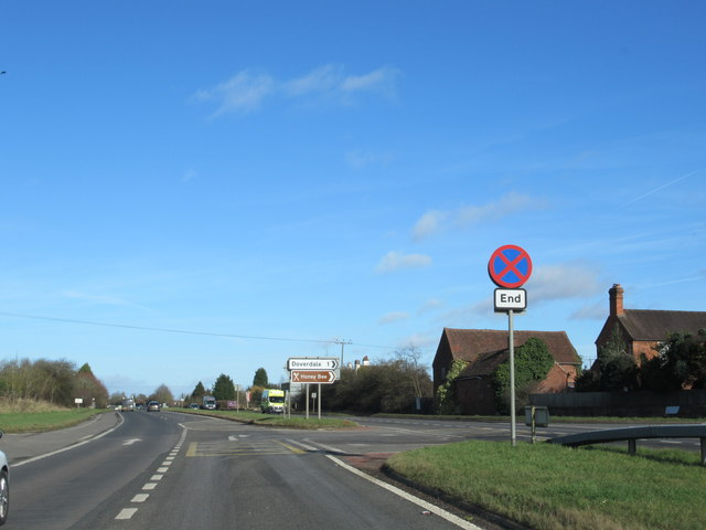 A449 Doverdale Junction