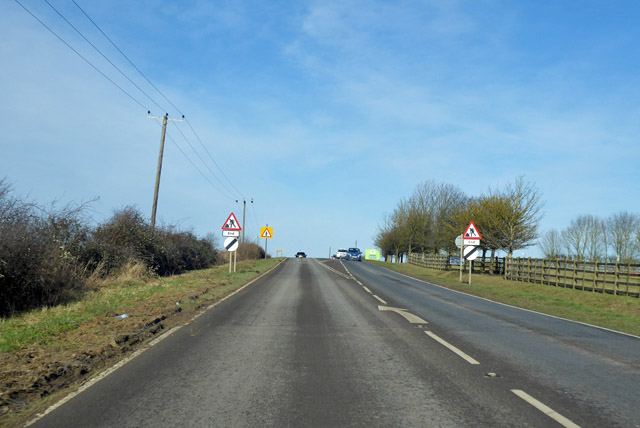 A1198 heading north