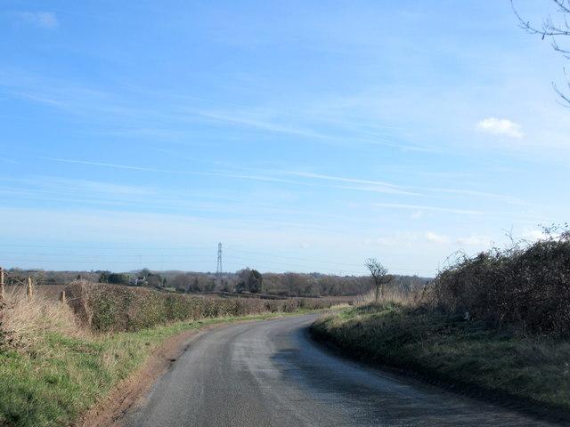 Doverdale Lane Near Doverdale
