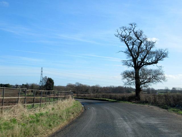 Doverdale Lane Near Doverdale (2)