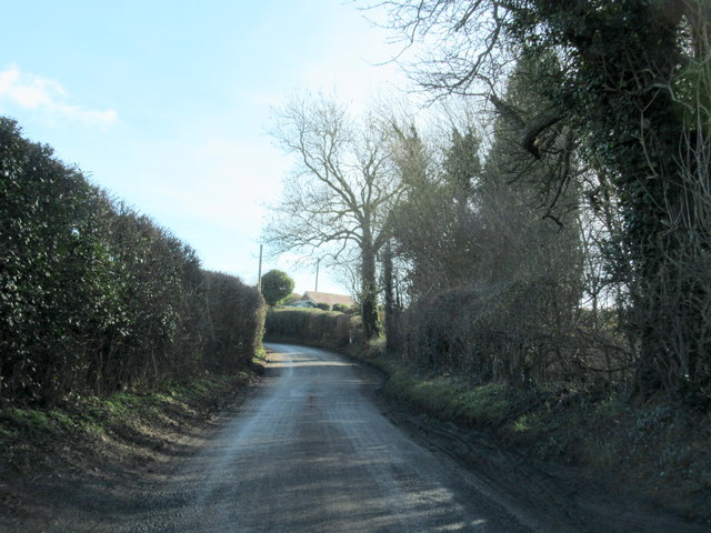 Doverdale Lane Near Packington Farm