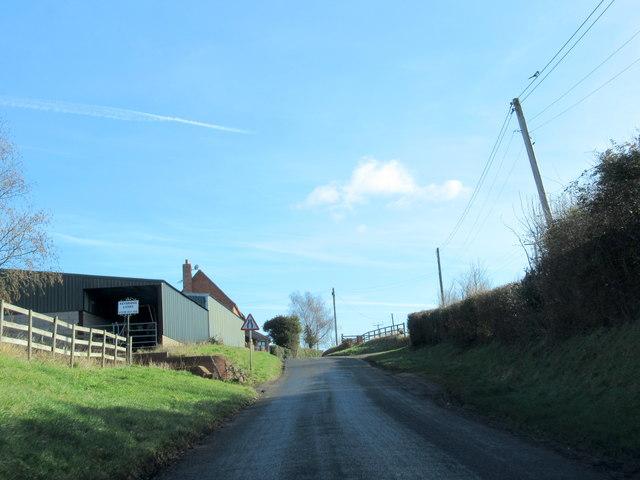 Doverdale Lane Passing Keybridge Livery Farm