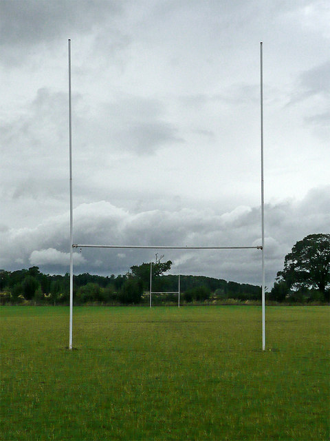 Rugby pitch north-east of Worcester