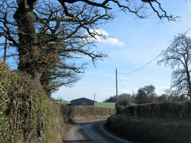 Doverdale Lane Near Home Farm