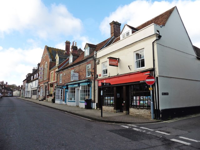 Shops on West Street, Wareham