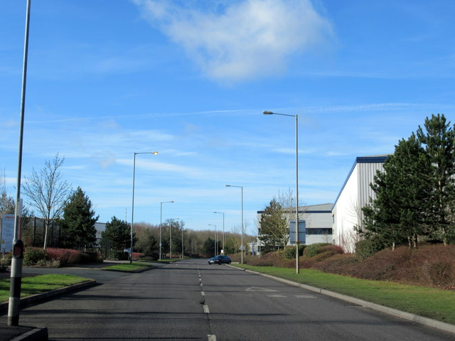 Pointon Way on the Industrial Park Droitwich