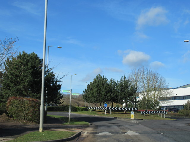 Island on Pointon Way Industrial Park Droitwich