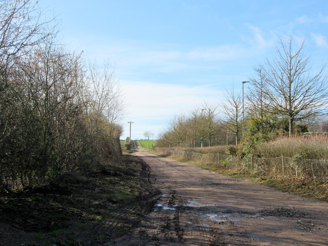 Monarch's Way Heading South From Industrial Park