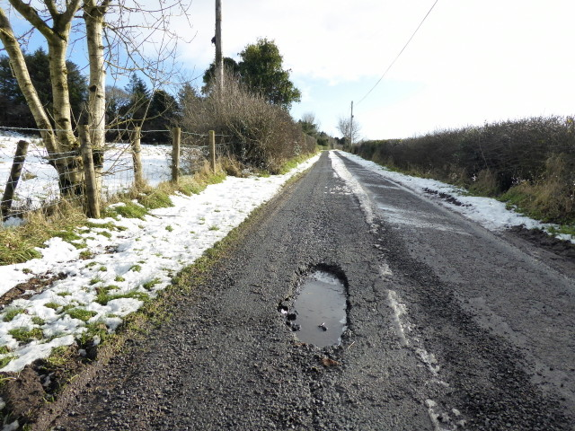 Pothole, Rylagh Road