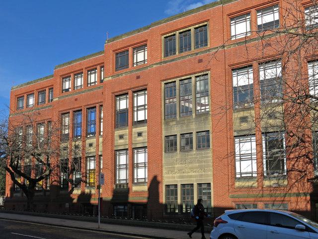The King George VI Building, University of Newcastle, St. Thomas' Street, NE1