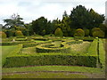 SK4032 : Part of the knot garden at Elvaston Castle by Humphrey Bolton