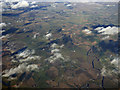 NS9738 : The Carstairs meanders from the air by Thomas Nugent