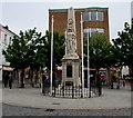 SS9079 : Bridgend War Memorial by Jaggery