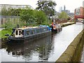 SJ8598 : Tardis on the Rochdale Canal by Gerald England