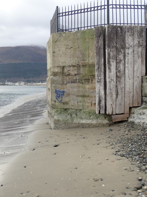 Disused WWII Pillbox on the boundary of the Slieve Donard Hotel