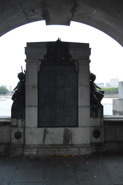 King George V Memorial, Victoria Embankment