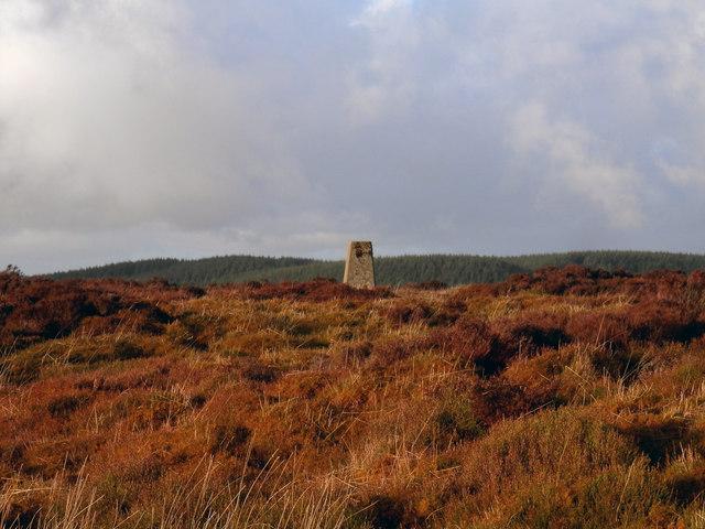 Trig Point on Gartloskan Hill