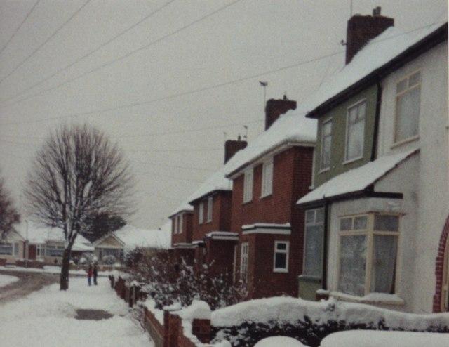 Jameson Road in snow