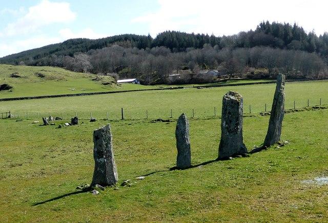 Ballymeanoch stone row