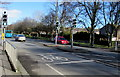 SJ2978 : Liverpool Road pelican crossing, Neston by Jaggery