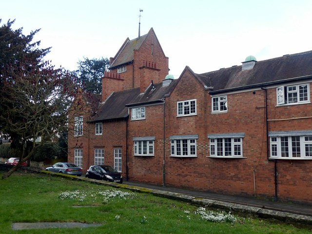 Buildings alongside Shardlow Road