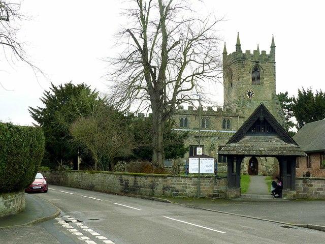 Church of All Saints, Aston-on-Trent