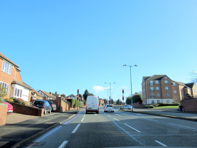 A4041 Newton Road at Junction For B4167 Hamstead Road Great Barr