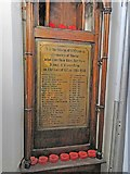TG2309 : WW1 War memorial in St Clement Colgate church by Adrian S Pye