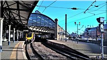 NZ2463 : Newcastle Central station west end by Chris Morgan