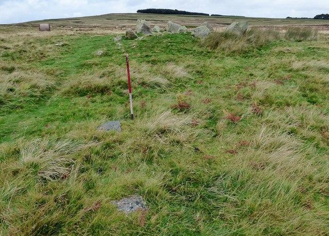 Askham Fell Cairn stone row
