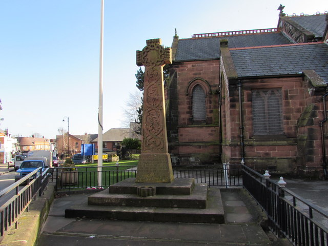 Neston War Memorial Cross