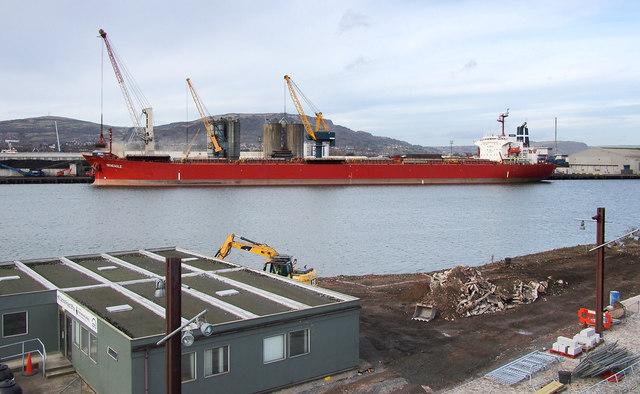 The 'SeaEagle' at Belfast