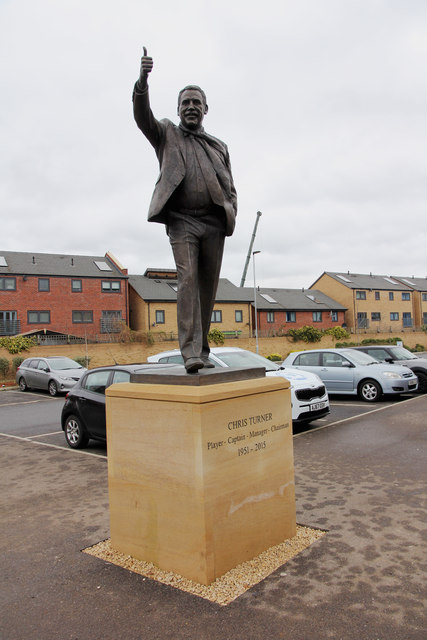Chris Turner Statue