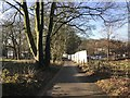 SJ8245 : Observatory Walk, Keele University by Jonathan Hutchins