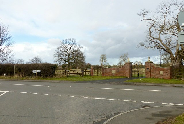 Gateway to Thurlaston Grange