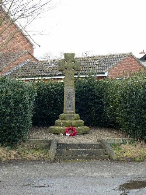 Elvaston War Memorial